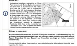NOTL Public meeting notice
