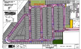 Rand Subdivision Emergency Vehicle Turning Movement Plan