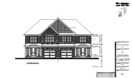 Rand Subdivision Conceptual Building Elevations